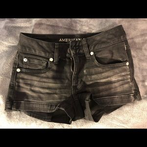 American Eagle jean shorts - women's 00